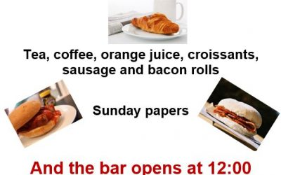 Sunday Brunch at the Harrold Centre 4th February