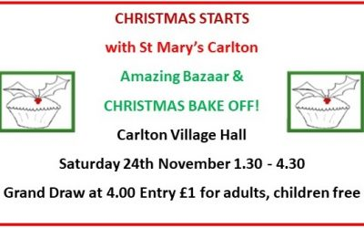 St Mary's Carlton Christmas Bazaar and Bake Off